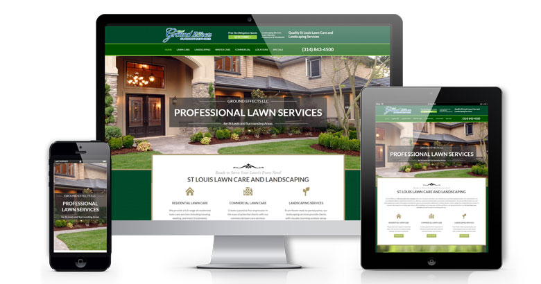 Landscape Web Design St Louis
