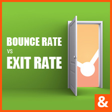 Google Analytics - Bounce rate vs Exit rate