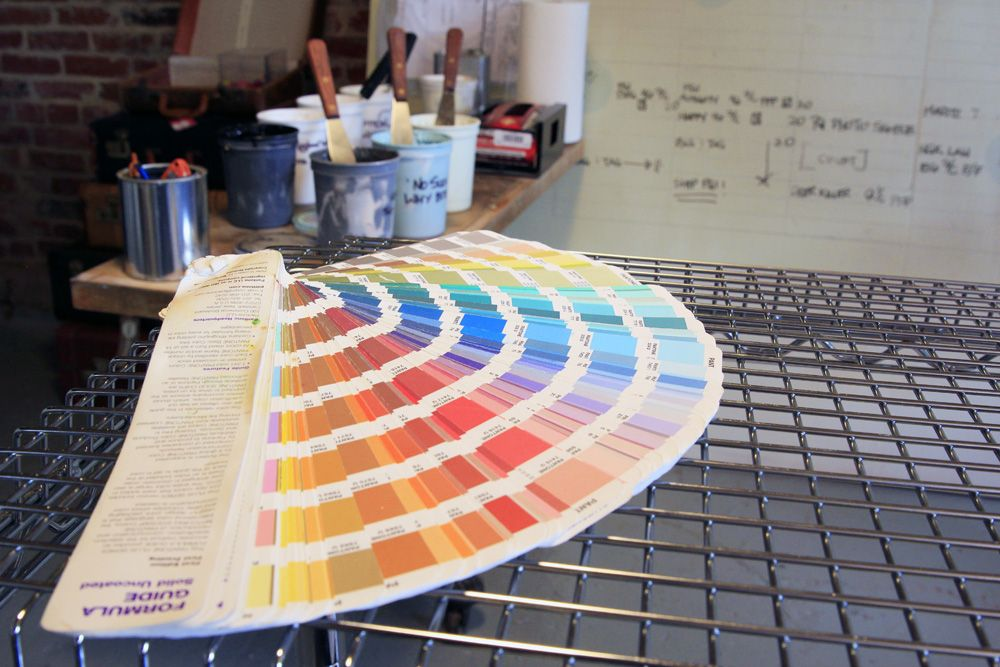 Color Mixing Room